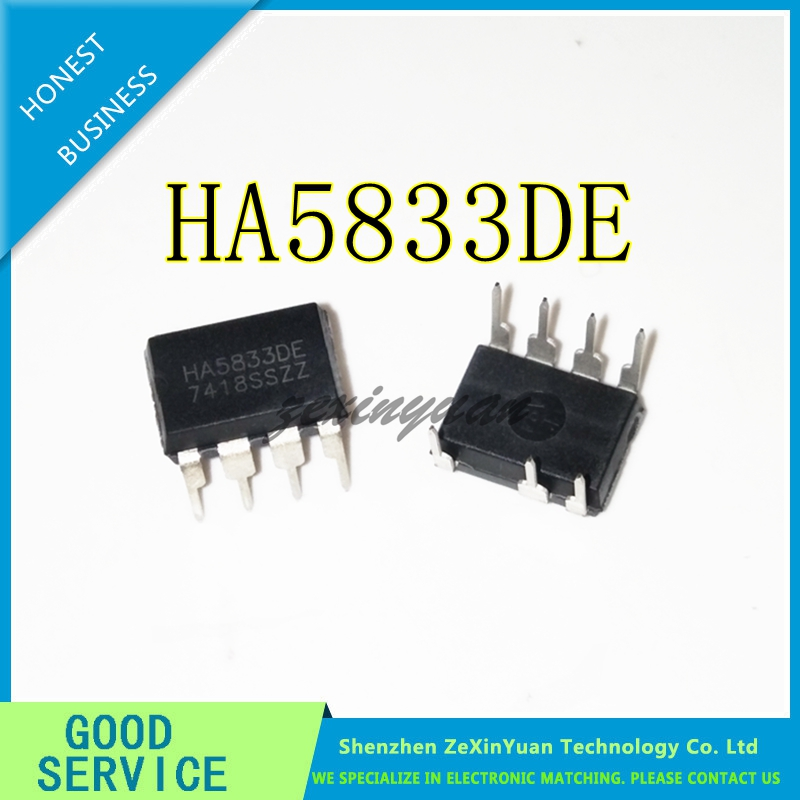 10PCS HA5833DE HA5833D HA5833 DIP-7 NEW