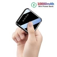 Power Bank 10000mAh For IPhone 8 Xiaomi Portable Mini Power Bank Power Bank Charger Dual USB Ports External Battery Power Bank