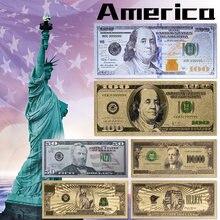 Regalo de colección, 2011 $, 100 dólares estadounidenses, dinero, dinero, billetes del mundo