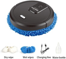 Intelligent Vacuum Cleaner Humidifying Spray Rechargeable Dry and Wet Lazy Broom for Both Dry and Wet Use 3 in 1  Sweeping Robot