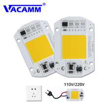 Встроенный светодиодный светильник COB, лампа AC220V 110 в 30 Вт 50 Вт, светодиодный светильник с умным IC драйвером, белый/теплый белый, DIY прожектор, точечный светильник