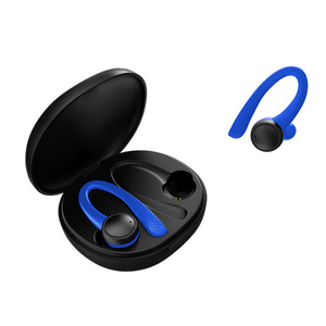 Image 5 - T7 Pro TWS Earphone Wireless bluetooth 5.0 Earhooks Silicone Soft Hifi Stereo Sports In Ear Headset with Charging Box