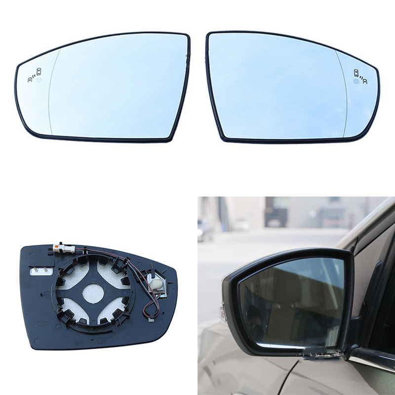 Wing door Mirror Glass Passenger side for Ford B-Max 2012-2018 Heated Blind Spot