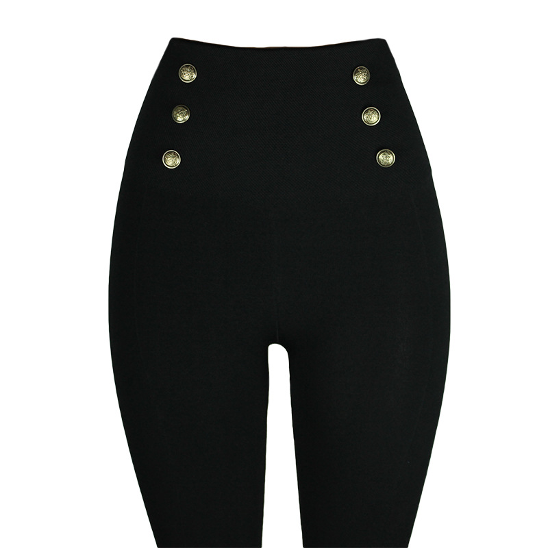 Leggings Hot Selling Hollywood Pants Stovepipe Leggings High-waisted Body Shaping Pants