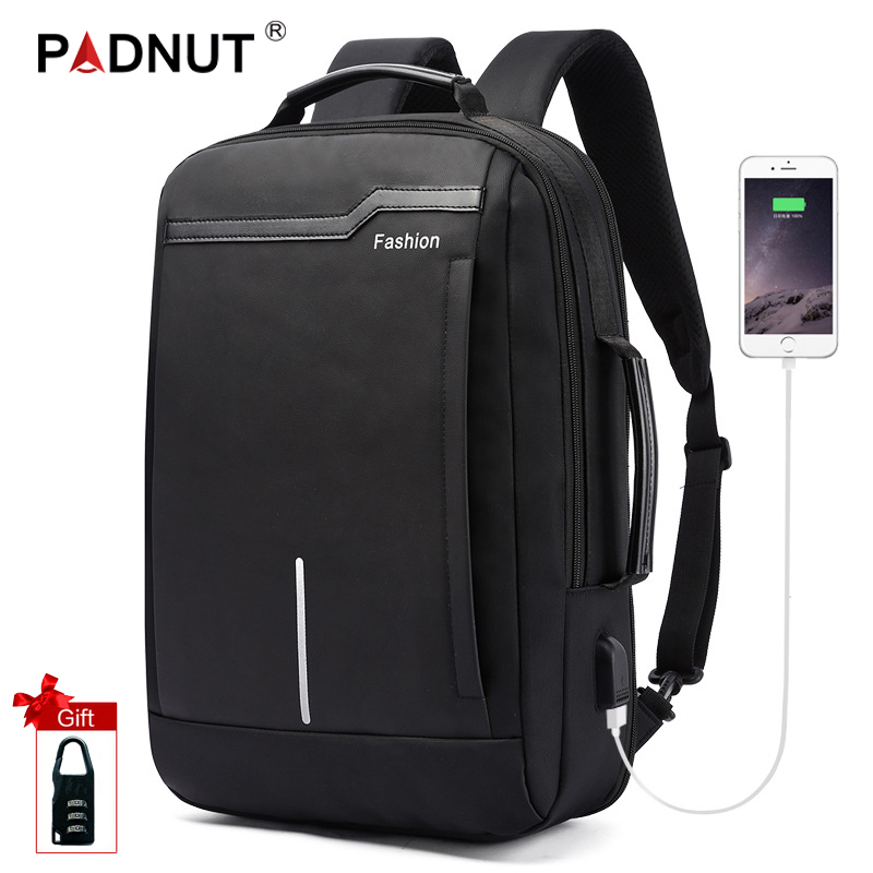 Anti-theft Laptop Backpack 17.3 Inch Anti Theft Bagpack Travel Men Women Back Pack School Bags Men's USB Charger Backpacks Bag