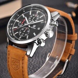 Image 2 - リロイ hombre 2019 トップブランドの高級 benyar ファッションクロノグラフスポーツメンズ腕時計ミリタリークォーツ腕時計時計レロジオ masculino