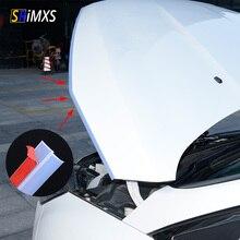 Sello de goma transparente para puerta de coche, tira de sellado de alta densidad, borde embellecedor en forma de Z, sellos para puerta del auto