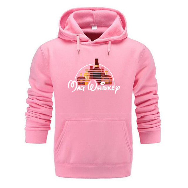Fashion Malt Whiskey Hoodies Pullover Hip Hop Men