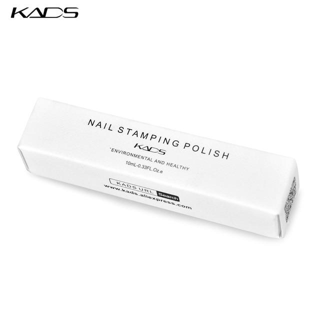KADS 41pcs Nail Stamping Polish Set Nail Art Stamp Plate Printing Lacquer 7ml DIY Nail Art Polish for Nails Manicure Varnish 6