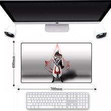 Anti-slip Nature Rubber Big Gaming Assassins Creed Gamer PC Mouse Pad Large Keyboard Laptop Play Lockedge Mousepad Mice Mat