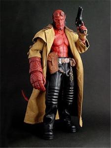 Горячая игрушка Hellboy Devil HT 1/12 масштаб Goloden армия ПВХ фигурка модель игрушки