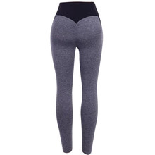 Women's Casual Workout Leggings Fitness Sports Running Yoga Athletic Pants High Waist Patchwork Woman Seamless Gym Leggings