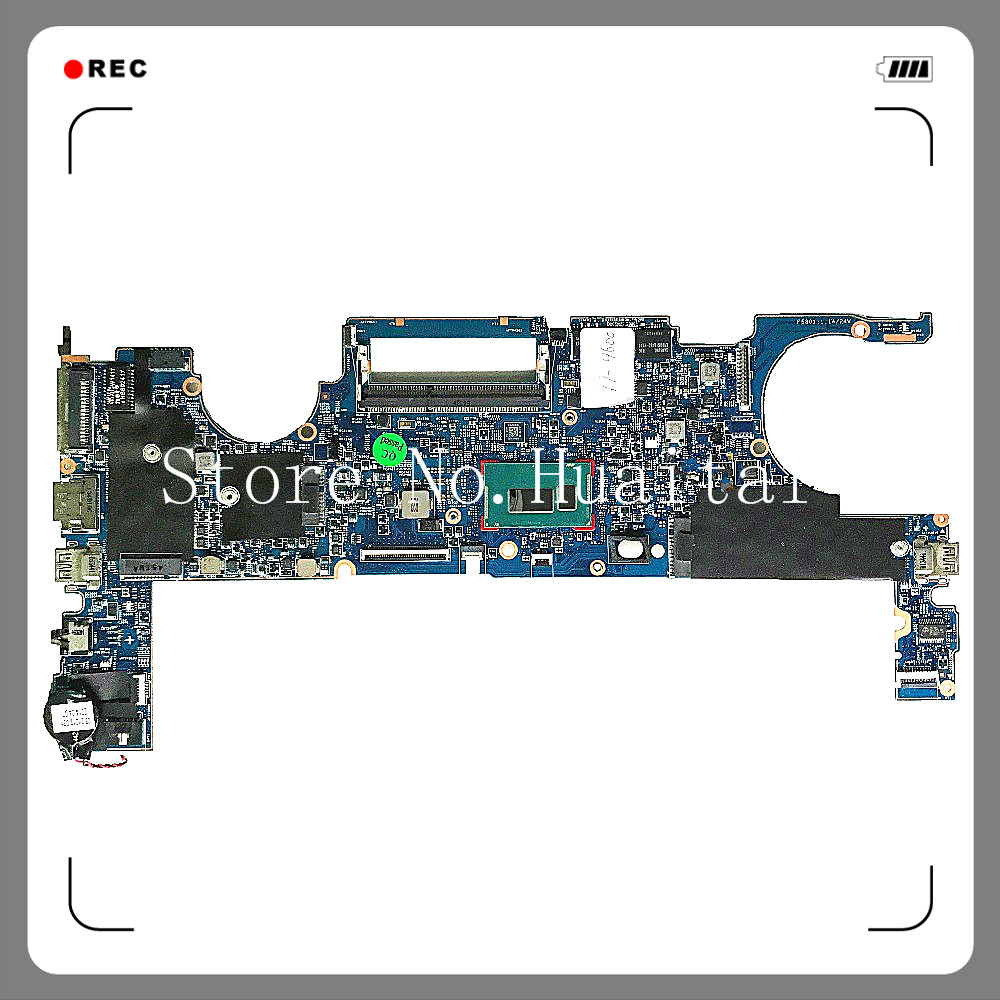 for Folio 1040 G1 Laptop Motherboard 748354-001 With SR1EA <font><b>i7</b></font>-<font><b>4600u</b></font> CPU 4GB RAM 100% tested fully work image
