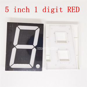 Image 2 - 5pcs X 5inch 1digit RED 8 segment led display 50101AS/50101BS