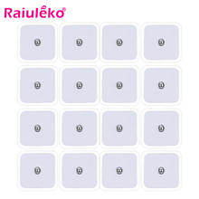 10/20Pcs Tens Electrodes for Myostimulator Physiotherapy Therapy Machine Pads Slimming Massager Adhensive Gel Health Pad Tens