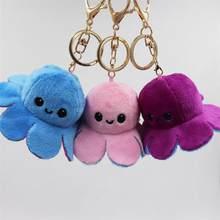 Brinquedos de pelúcia bonito kawaii saco mochila pingente chaveiro animais de pelúcia crianças presente aniversário banana