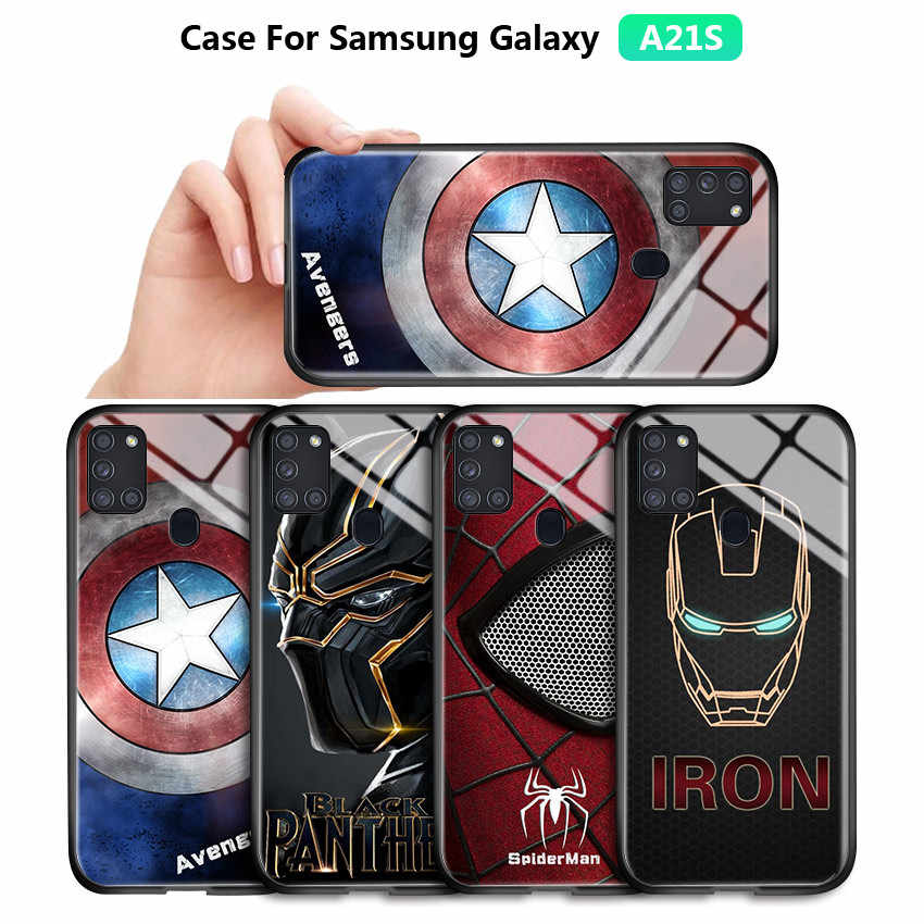 Pour Samsung Galaxy A21S A01 A11 A31 Marvel coque de téléphone ...