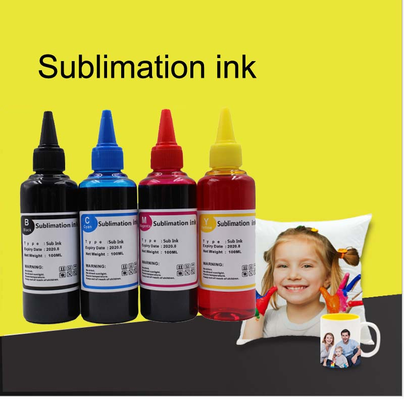 Universal Sublimation Ink For Epson Inkjet Printers Heat Transfer Ink Heat Press Sublimation Ink Used For Mug Cup/T-Shirt