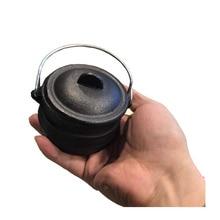 Mini Cast Iron Three-legged Pot South African Pot Cast Iron Potjiekos