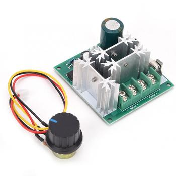Motor Regulator DC 6~90V 0.01~1000W Motor Speed Controller PWM Speed Regulation Switch with Fuse image