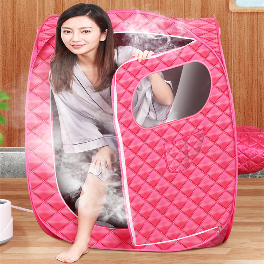 Portable Steam Sauna Bath for Health and Beauty Spa at Home Lose Weight Detox Therapy Steam Fold Sauna Cabin 1