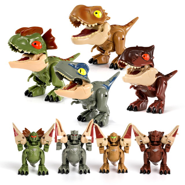 Transform Dinosaur Robot Toy Jurassic Park, Transformer T Rex Educational Animals Dinosaurs Toys for Children Boys 1