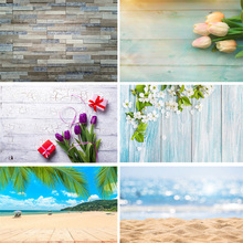 цена на Vinyl Custom Photography Backdrops Prop Wooden Planks Theme Photography Background  191106FG-02