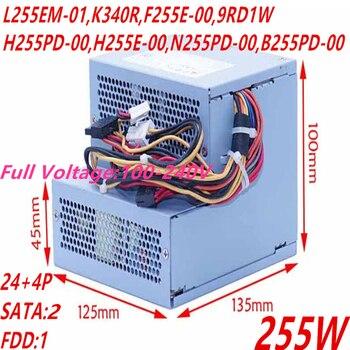 New PSU For Dell 580 760 780 960 980 255W Power Supply L255EM-01 K340R F255E-00 L255P-00 H255PD-00 H255E-00 N255PD-00 B255PD-00 фото