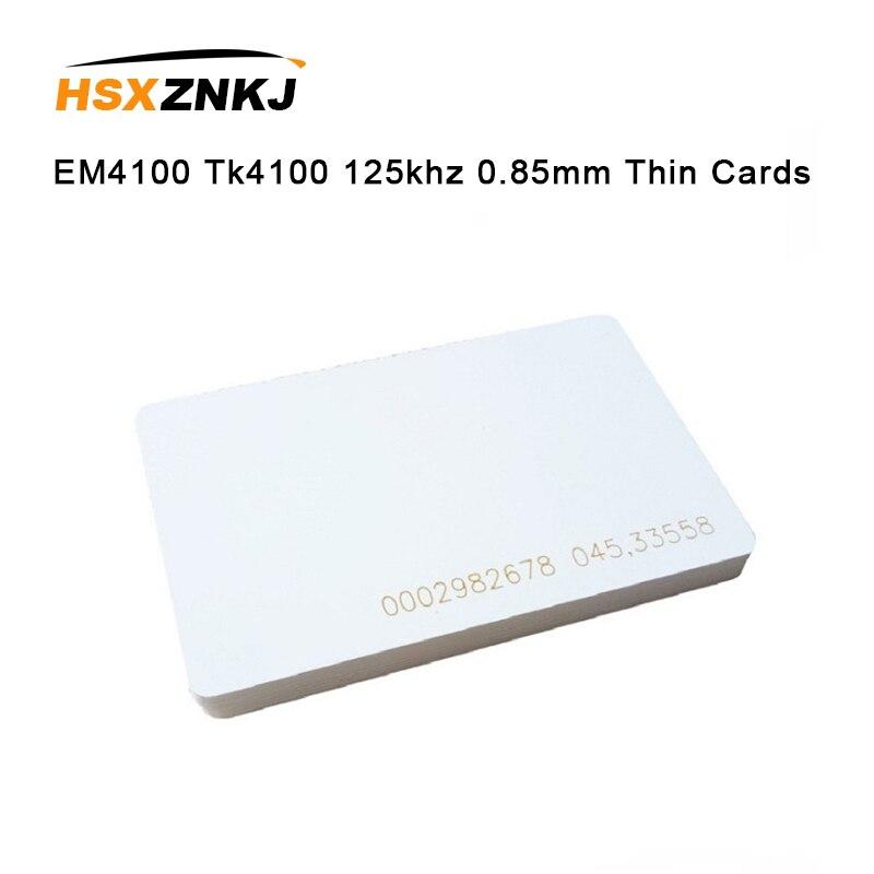 5 uds EM4100 Tk4100 125khz 0,85mm tarjetas delgadas Control de acceso tarjeta mando a distancia RFID etiquetas pegatina llave Fob Token anillo proximidad Chip Tira LED SMD 2835 · Tiras LED Flexibles Impermeables IP67 Chip LED 2835 con transformador