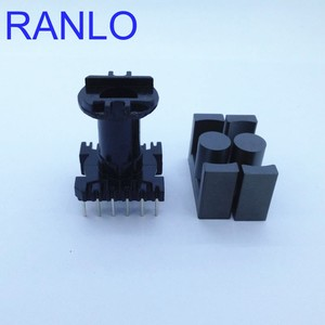 Image 3 - EC35 ER35 vertical 6+6pin transformer frame bobbin skeleton soft ferrite core N87 PC40