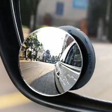1pc Car Mirror 360 Wide Angle Round Convex Mirror Car Vehicle Side Blindspot Blind Spot Mirror Small Round Rear View Mirror