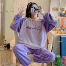 Милая женская пижама 2020 зимняя теплая и удобная повседневная