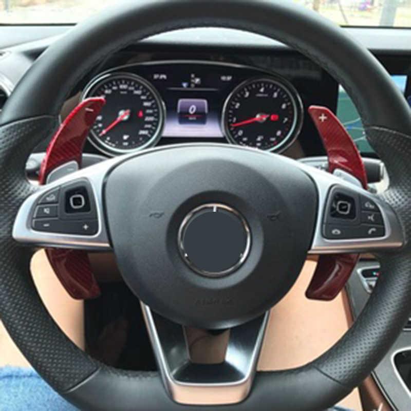 DSG Schaltwippen Verlängerung Alu Paddle Shift für Benz W176 W205 W212 W222 W246