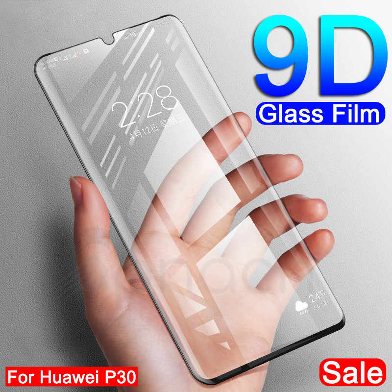 9D Protective Glass on the For Huawei Mate 20 10 Pro 20X Mate 9 Lite Screen Protector For P Smart 2019 Tempered Glass Film Case