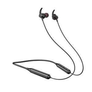 Image 3 - Draadloze Oortelefoon Hals Opknoping Sport Oortelefoon Bluetooth 5.0 Headset Smartphone Tablet Hoofdtelefoon, Rood