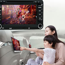 Auto Multimedia Speler 2 Din Auto Dvd Voor Skoda Volkswagen Vw Passat B6 Polo Golf Touran Sharan Jetta Caddy T5 tiguan Bora(China)