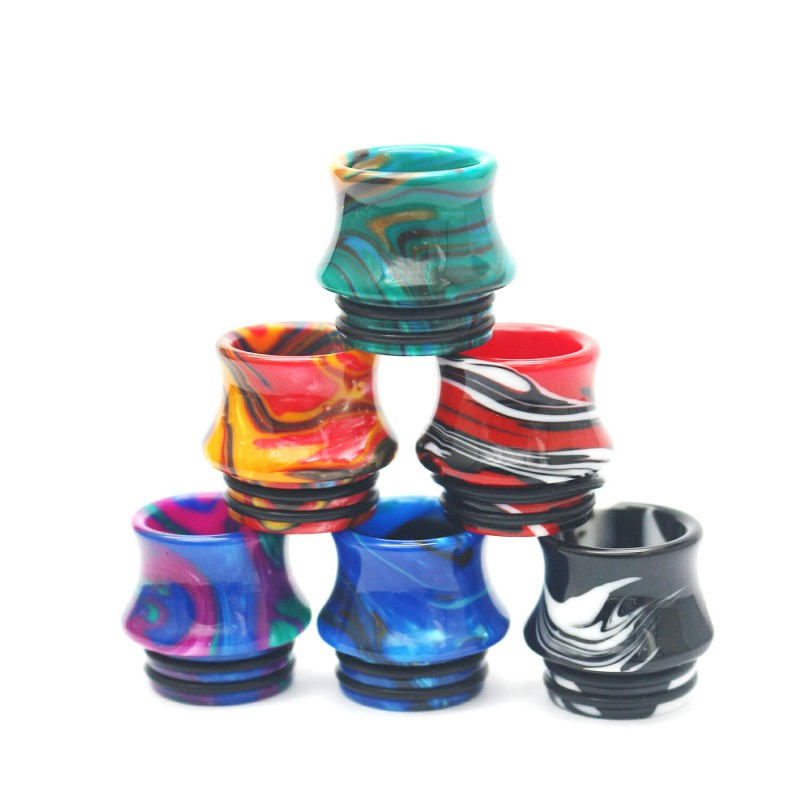 Replacement 810 Resin Vape Drip Tips For TFV8 Big Baby TFV12 Prince Sticke V8 E Cigarette Accessories Drip Tip