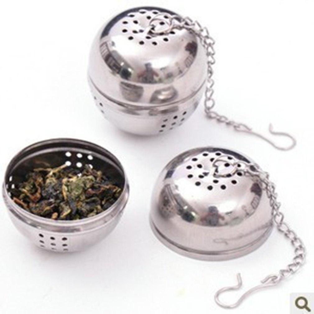 Stainless Steel Seasoning Bag Kitchen Supplies Bulb Tea Soup Ball Hot Pot Spice Halogen Filter Ball Kitchen Gadget