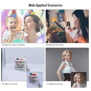 Image 5 - Andoer Video Llightingชุดสตูดิโอสตูดิโอถ่ายภาพไฟLedหรี่แสงได้มือถือเติมแสงW/Light 36W 5500K CRI90 +