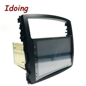 Image 4 - Idoing Volante Multimedia con GPS para coche, Radio con navegador, Android 10, 9 pulgadas, 4G + 64G, PX6, 2DIN, unidad frontal de Radio, para MITSUBISHI PAJERO V97