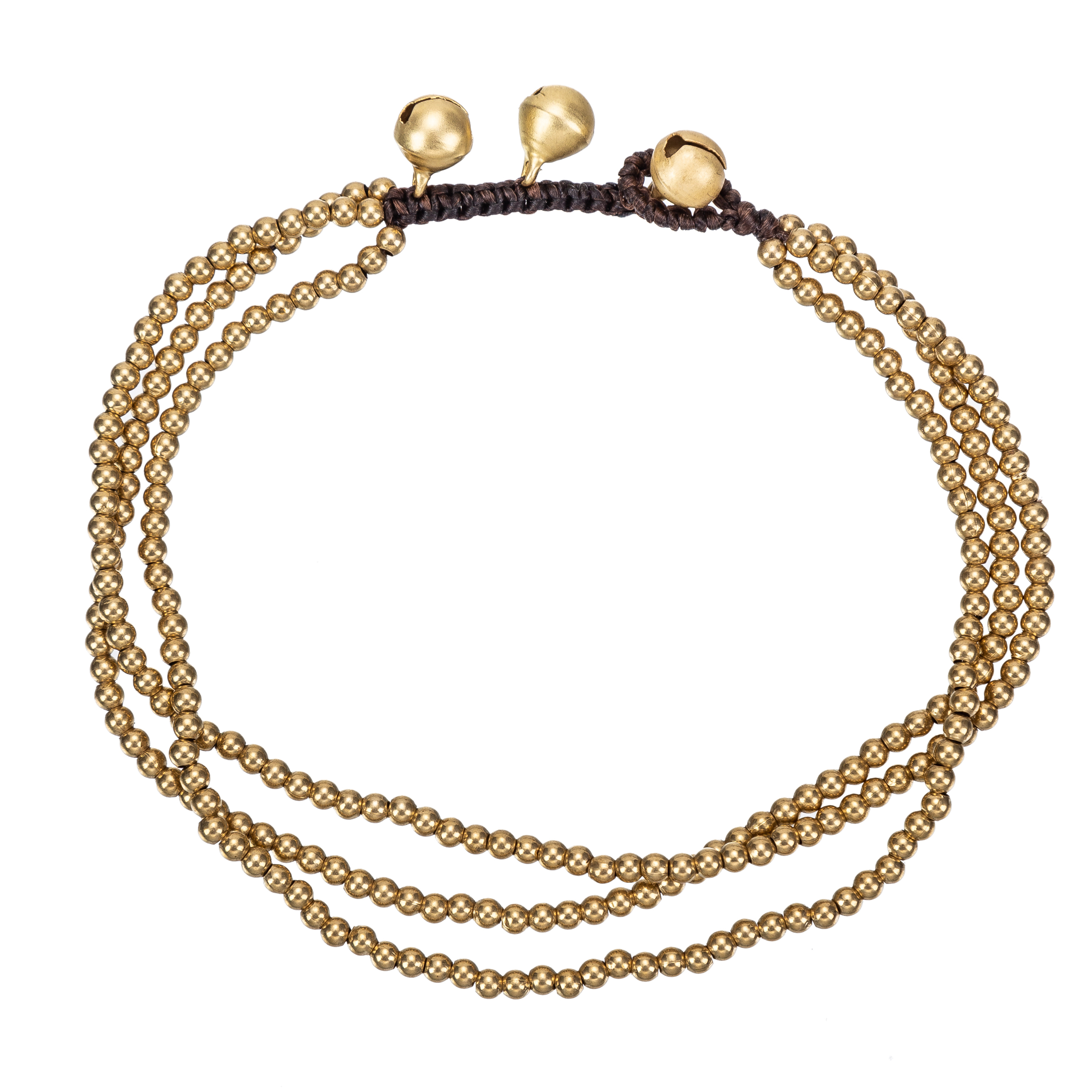 Vintage 3 Layers Beaded Chain Leg Anklets For Women Ankle Bracelet Woman Anklet Female Foot Jewelry