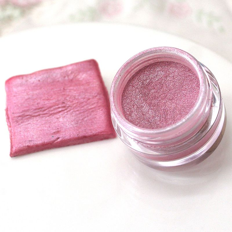 2g Pink Flash Glitter Powder Baked Edible Pigments Decorating Food Cake Biscuit Cake  DIY Pigment M0XB
