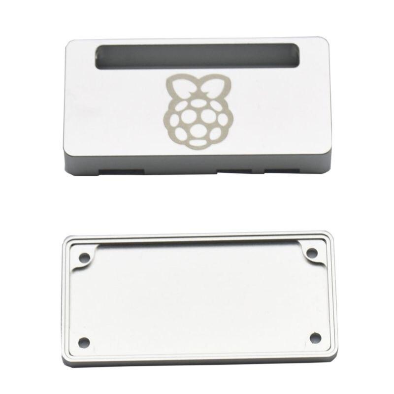 Closed Aluminum Case for Raspberry Pi Zero Silver