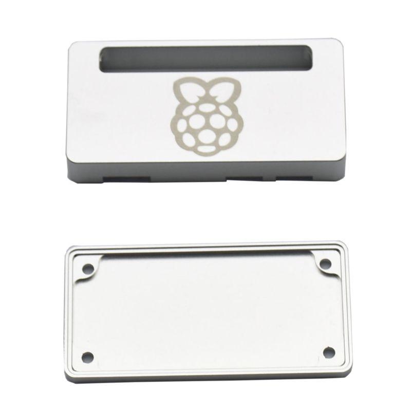 1Set Silver/Black Aluminum Protective Case Metal Enclosure For Raspberry Pi Zero