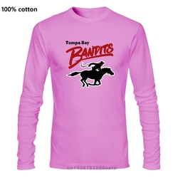 Men Funny T Shirt Fashion tshirt Tampa Bay Bandits Women t-shirt