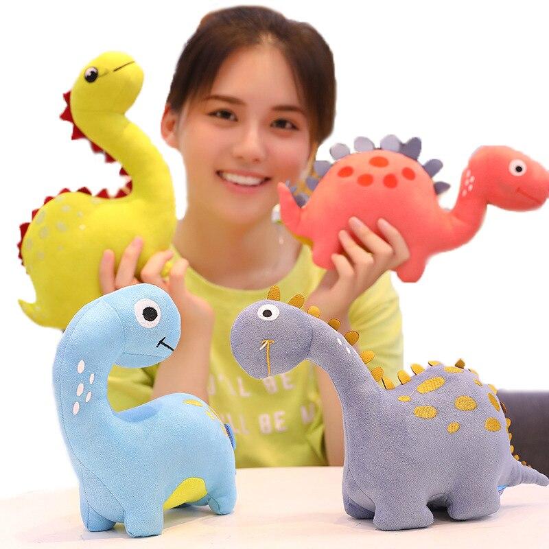 New Cute Cartoon Dinosaur Plush Toy Long Neck Dragon Toy Stuffed Animals Plush Dinosaur Pillow Kids Girls Gifts
