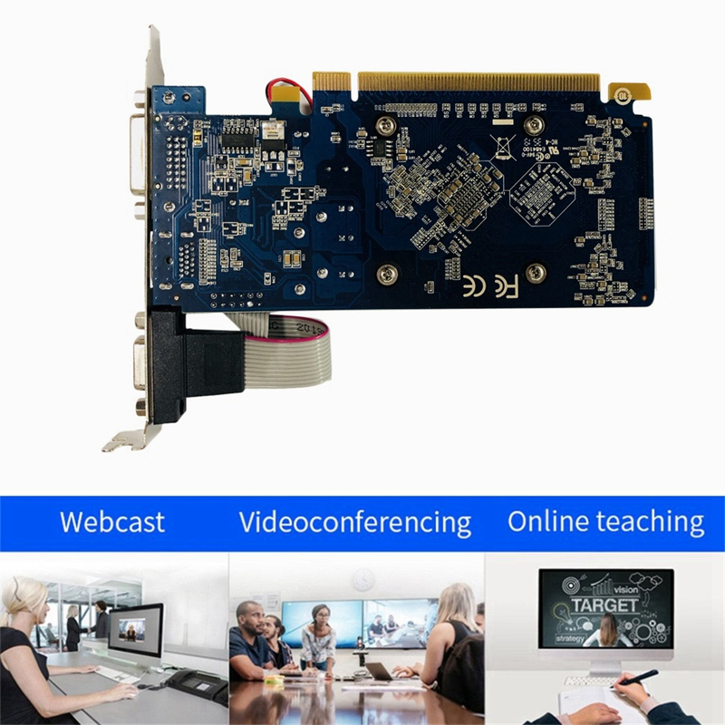 HD7450 2G image Card, Hd7450 2Gb Ddr3 64Bit Discrete image Card for Small Desktop Chassis 3