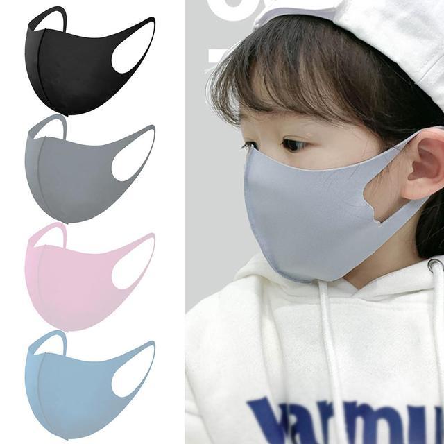 Kids Outdoor Cycling Anti Dust Haze Sponge Mouth Face Mask Respirator Masks Kids Dust Mask Windproof Facial Mask Sports Anti-fog 1