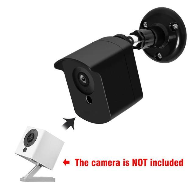 Wyze كاميرا جدار جبل قوس مع الغطاء الواقي للاستخدام في الأماكن المغلقة في الهواء الطلق ل شاومي CCTV Mijia Xiaofang كاميرا و Wyze كام 1080p