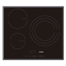 Hob Induction Sauber Sev03 3 Zones Cooking Width 60 Cm